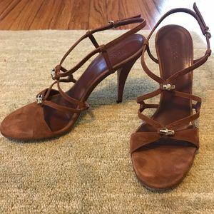 Gucci Suede Sandals